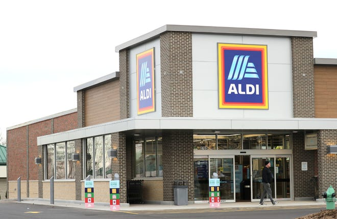 The new Aldi at 2702 N. Richmond St. in Appleton will open Thursday.