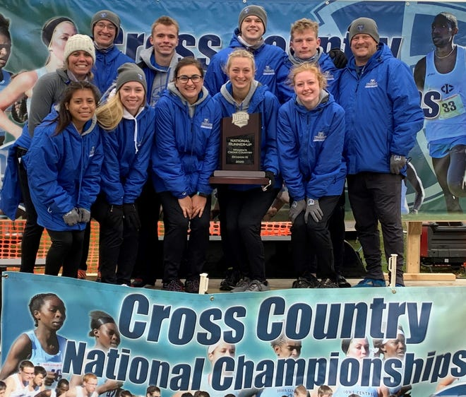 The Kellogg Community College women's cross country team finished as national champion runners-up.