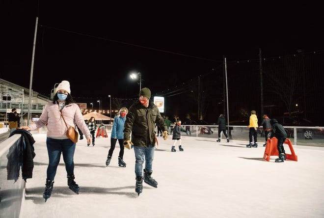Fifty West Brewing Company is set to launch its new ice skating rink the week of Nov. 16.