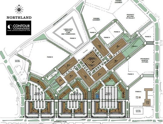 Contour Companies plan on redeveloping the area in two different phases.