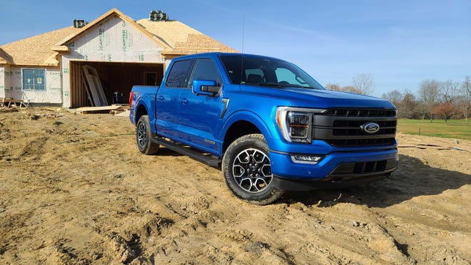 The 2021 Ford F-150 may not look much different than the outgoing model, but it is bristling with high-tech updates including a hybrid powertrain and on-board generator.