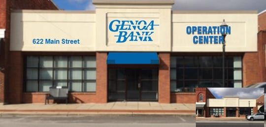 Genoa Bank is opening a new operation center.