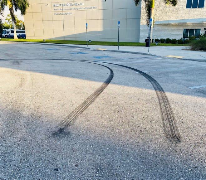 Dallas Joseph Ziemski faces a driving under the influence charge after troopers said heaggressively accelerated and turned his 2016 Dodge Charger within the front parking lot of Florida Highway Patrol Office in Fort Myers at 8:30 p.m.Sunday.