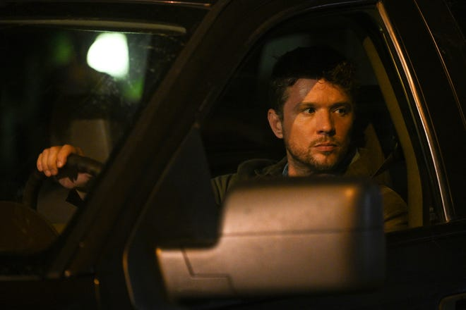 """This image released by ABC shows Ryan Phillippe in a scene from """"Big Sky."""" premiering on Tuesday."""