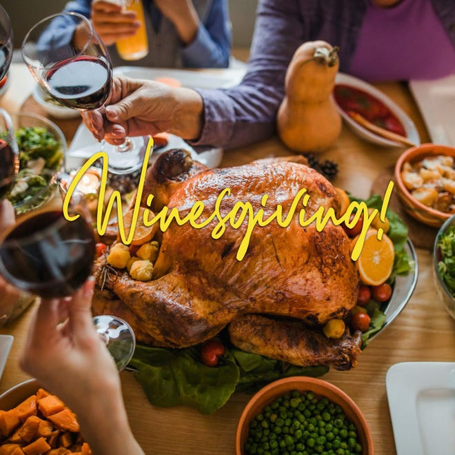 TASTE in Montgomery will host Winesgiving on Saturday from noon to 2 p.m.