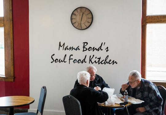 Owner Andrea Venable-Bond opened Mama Bond's Soul Food on Charles Street in downtown Muncie Friday, Nov. 13, 2020.