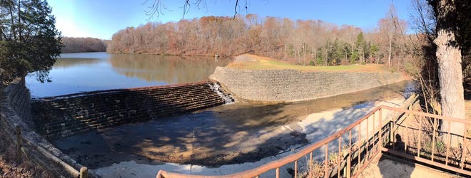 The Lake Woodhaven spillway at Montgomery Bell State Park was recently reopened to the public after being repaired.
