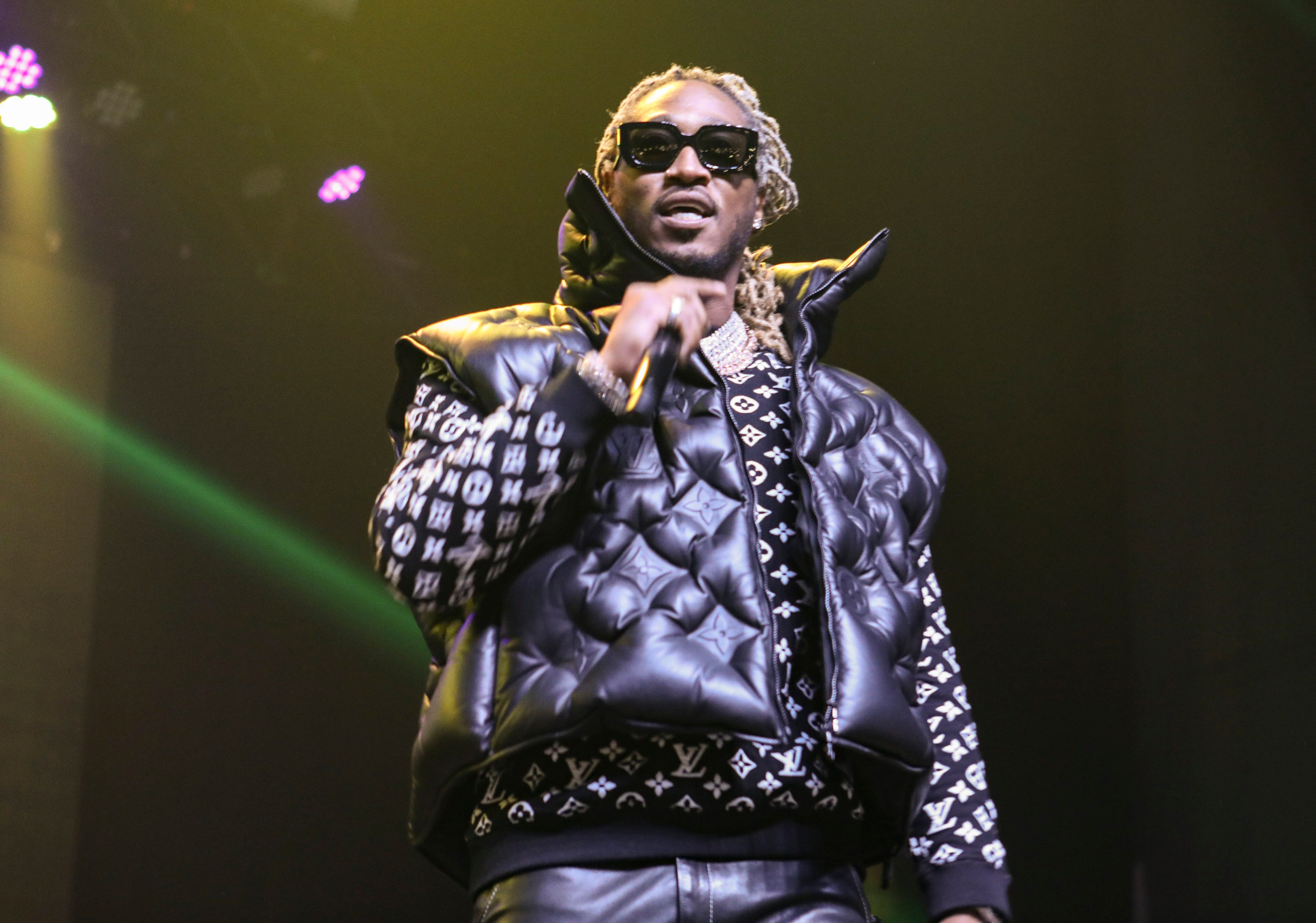 Future performs during the No Place Like Home Tour at the Coca-Cola Roxy on Sunday, January 19, 2020, in Atlanta.