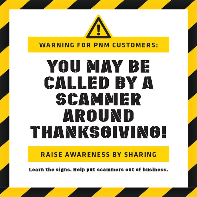PNM reminds customers to protect against phone scams  and report them to: www.ic3.gov