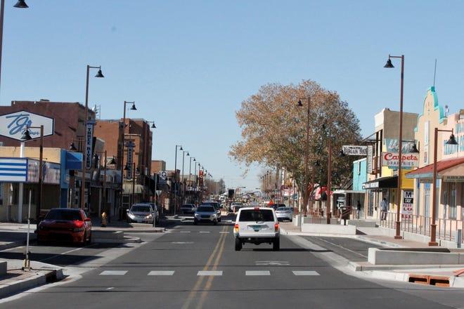 Downtown Farmington is pictured, Monday, Nov. 16, 2020.