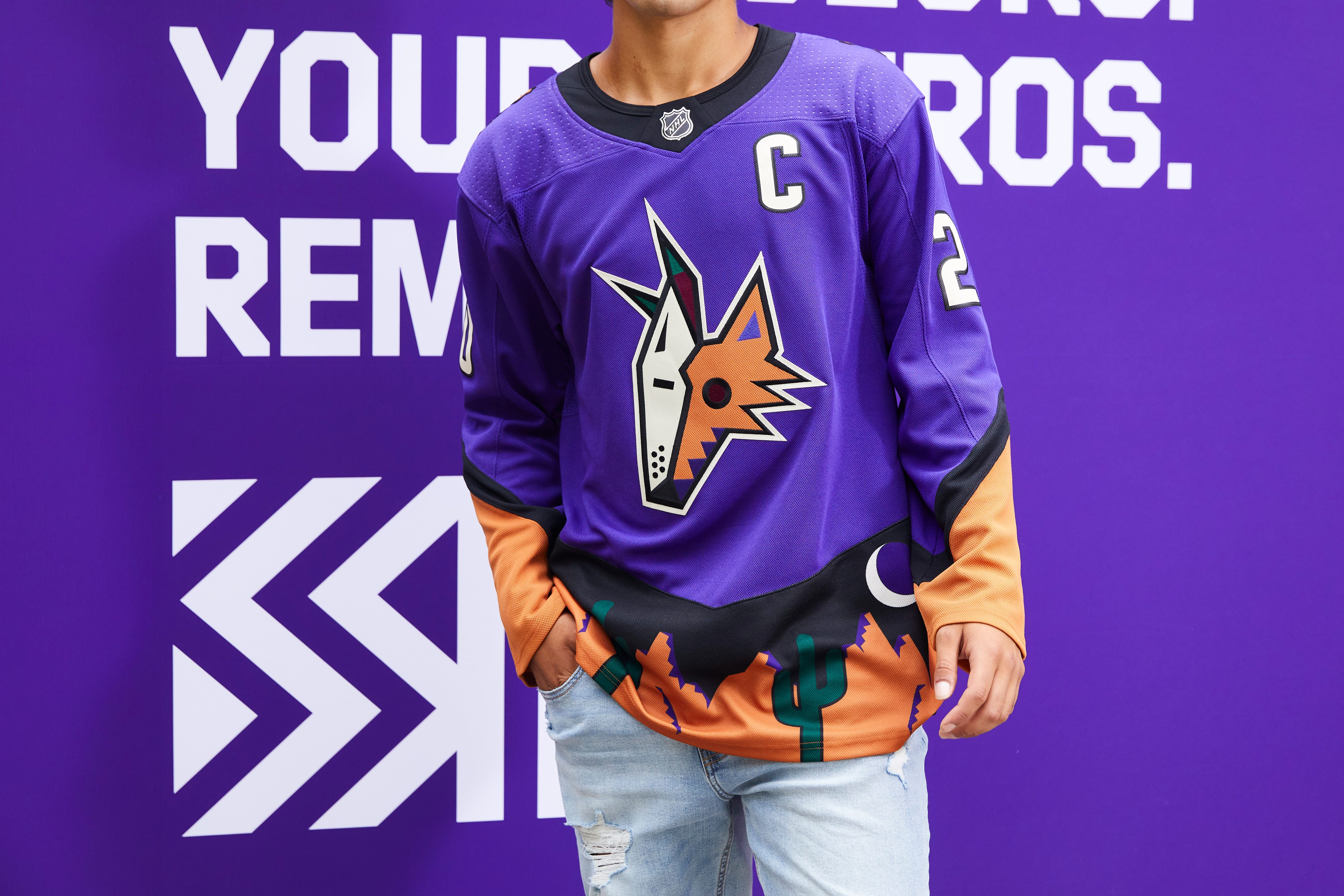Arizona Coyotes to wear purple alternate jerseys for select games
