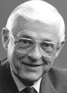 John Van de Wetering, former SUNY Brockport president.