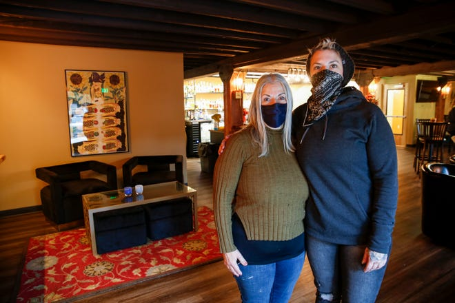 Mother-daughter duo Diana Ramallo and Alena Stewart open a new bar, the Alleycat Bar, on Thursday, Nov. 12, 2020 in downtown Salem, Oregon. The pair also own Amadeus and Sweetsmith.