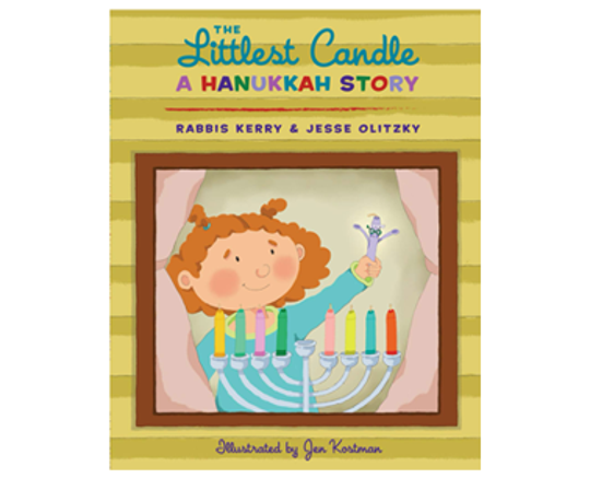 """""""The Littlest Candle: A Hanukkah Story"""" by Rabbis Kerry and Jesse Olitzky"""