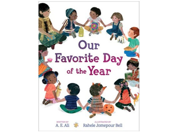 """""""Our Favorite Day of the Year"""" by A.E. Ali, illustrated by Rahele Jomepour Bell"""