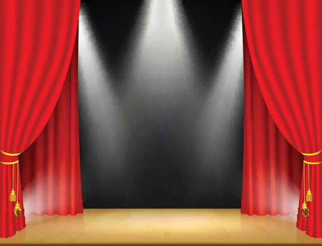 """Millville High School students ready to present a socially distanced, streamed and live, monologue play, """"Stranded."""""""
