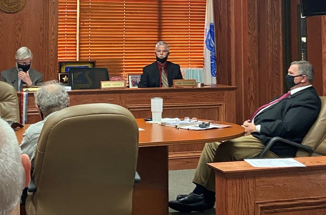 Wichita County Commissioners voted Monday to terminate their human resources director, Amanda Brumley. They allege they cannot verify a certification she was required to have for her job.