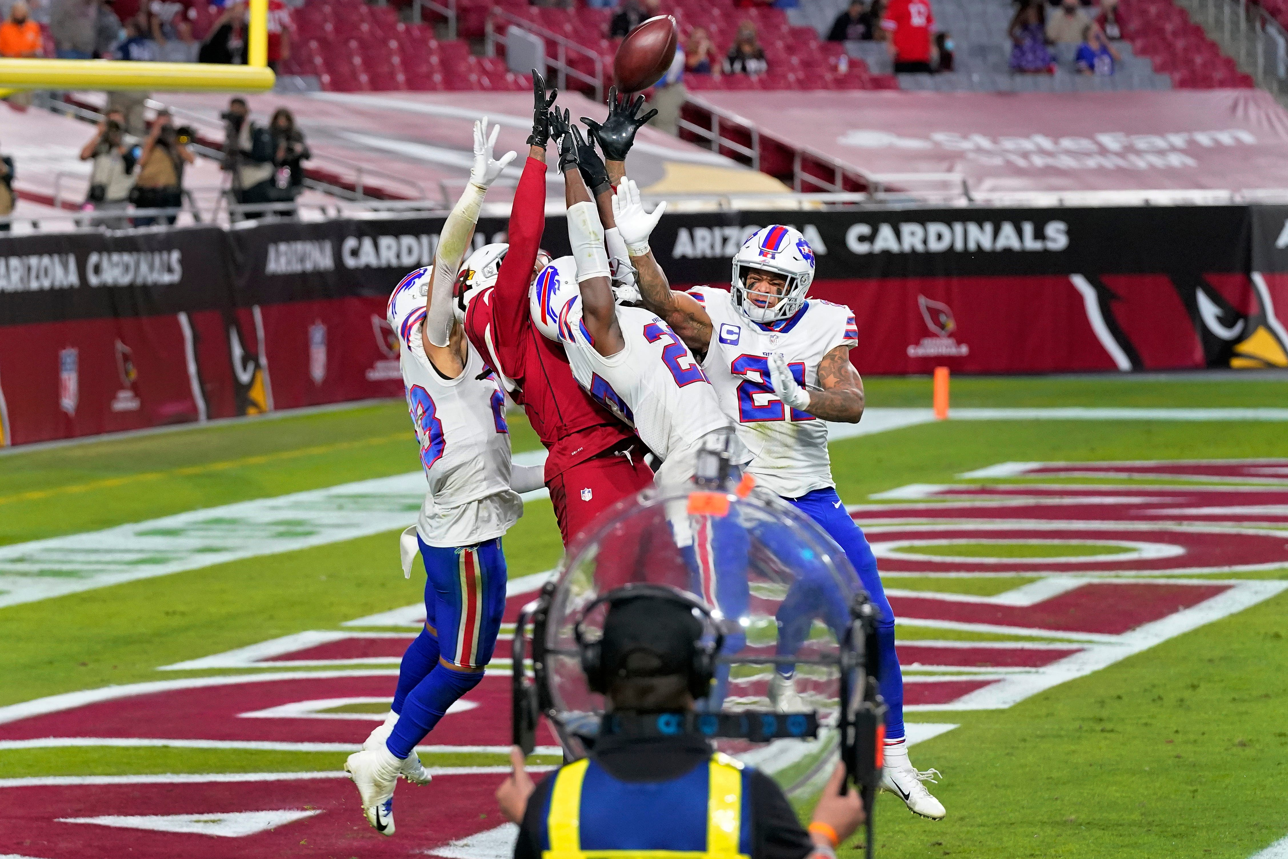 Deandre Hopkins Wild Td Saves Cardinals In Last Minute Win Over Bills