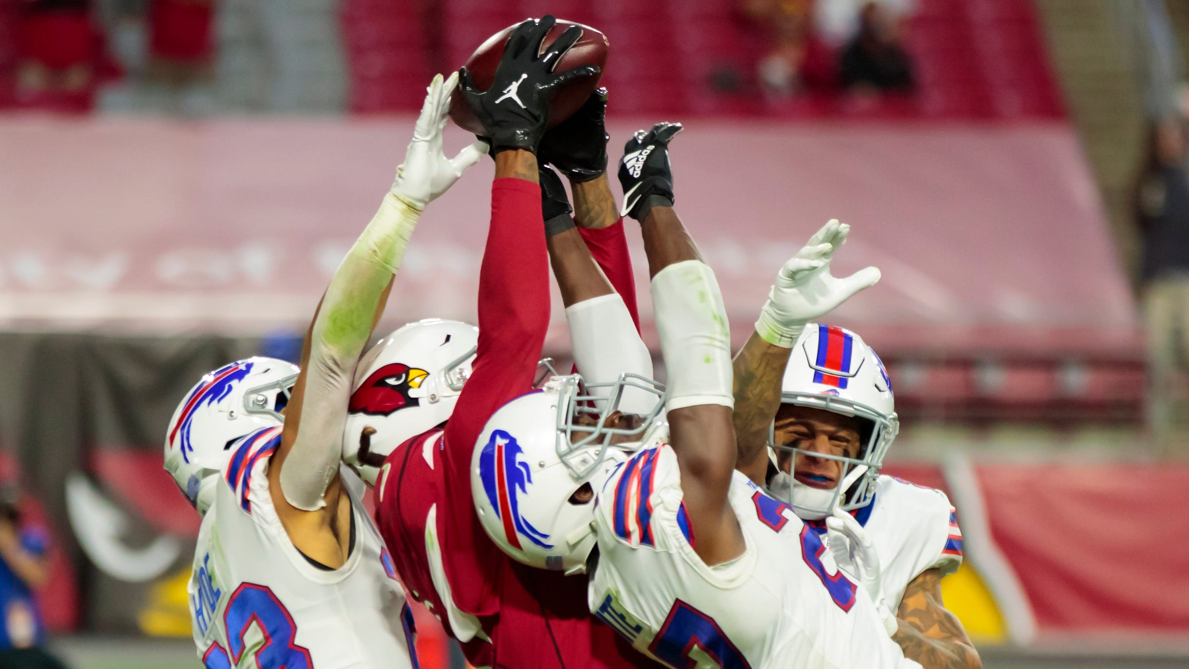 Cardinals Wr Deandre Hopkins Hail Mary Catch Nets Big Gain For Nike
