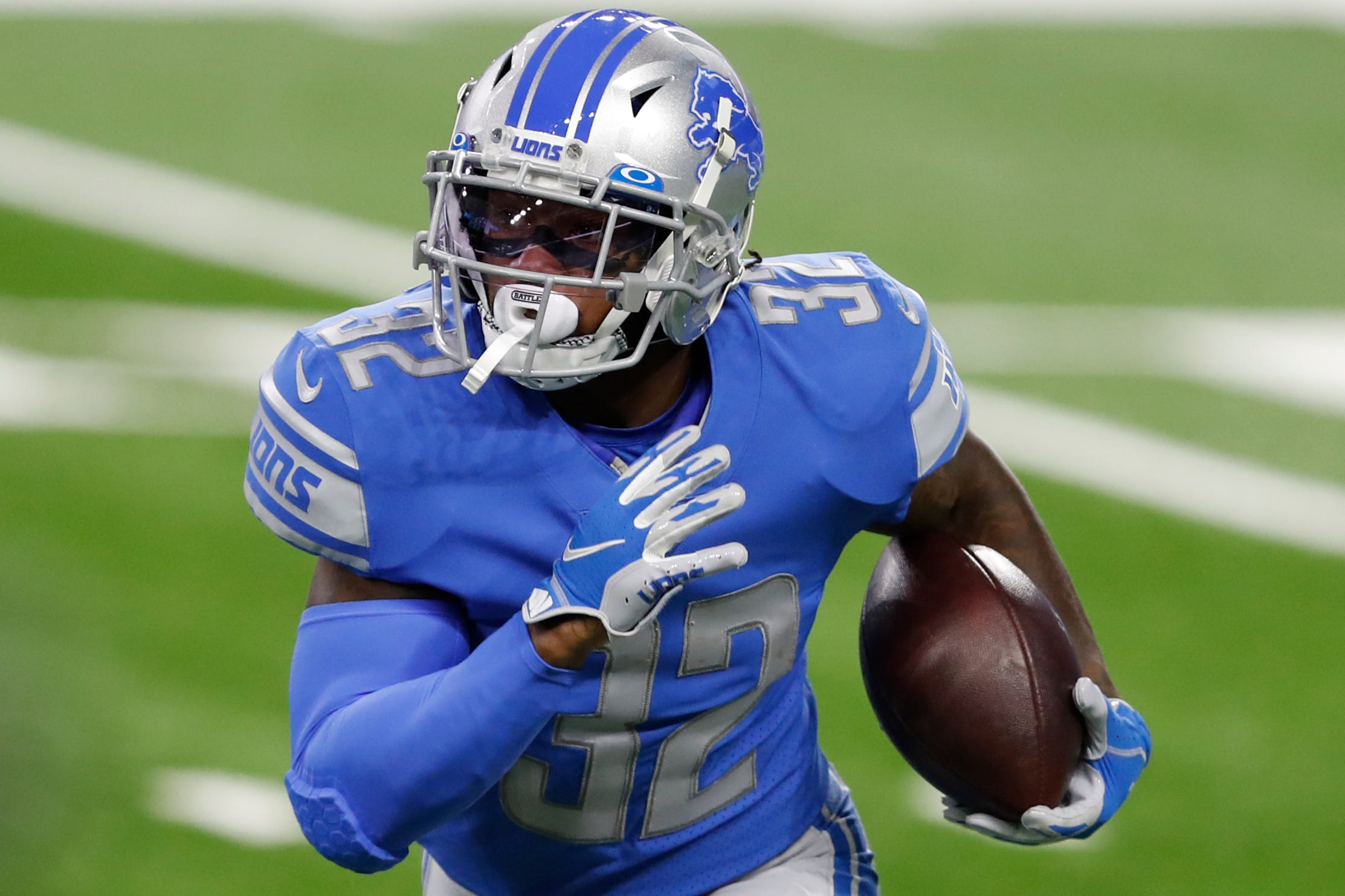 Detroit Lions' D'Andre Swift misses another practice, unlikely to play