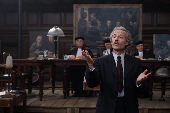 "Guy Pearce as Han Van Meegeren in TriStar Pictures' ""The Last Vermeer."""