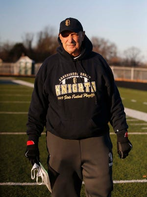 Ralph Orsini, former head coach of the Hoban football team, has returned this year as an assistant coach.