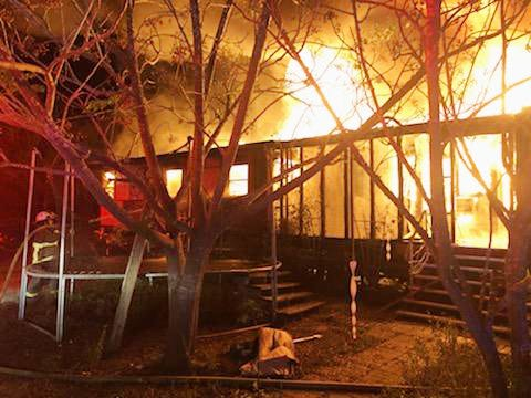 A fire destroyed a family's home early Tues. morning Nov. 17 in Ben Bolt on county road 440