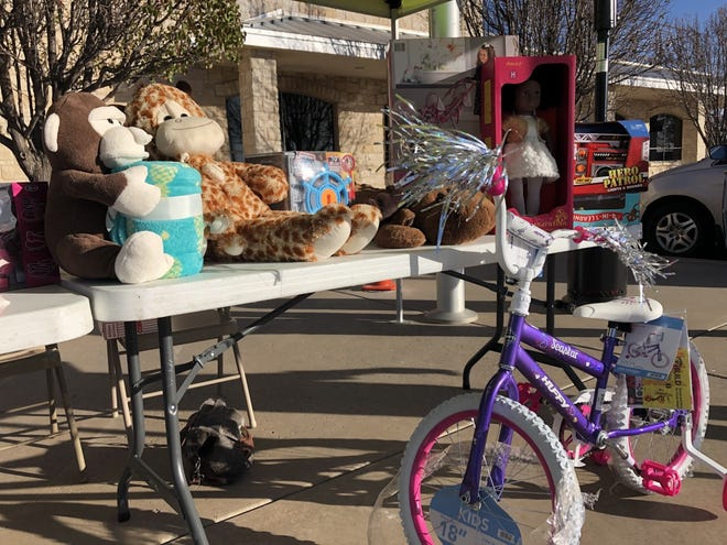 The Northside Toy Drive will continue its Toyathon through the end of the week taking monetary donations as well as unwrapped toysaimed at area kids ages 2-12from 4 to 8 p.m. at the FirstBank Southwest location at 2401 S. Georgia.