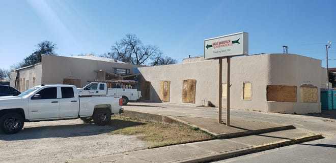 The former location of the Joe Brown Company on 3rd NE has been purchased and is undergoing renovations. The city has awarded a $12,500 fire suppression grant to the new owners.