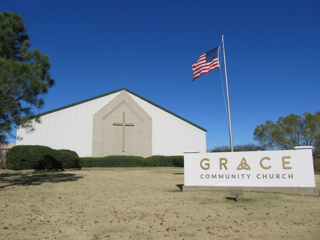 Grace Community Church is planning a two-phase expansion including the addition of a new sanctuary and youth building