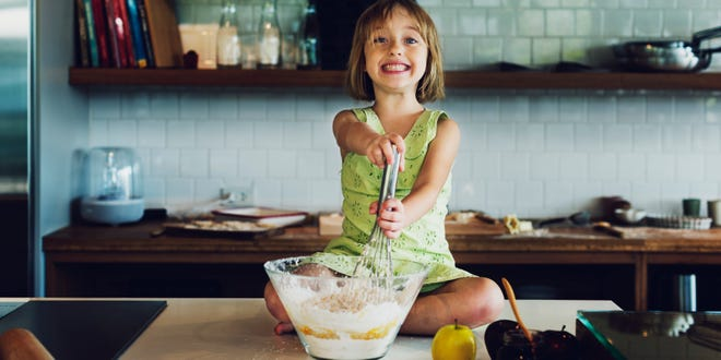 When kids pitch in to help make a meal, they more likely to eat the food being prepared.