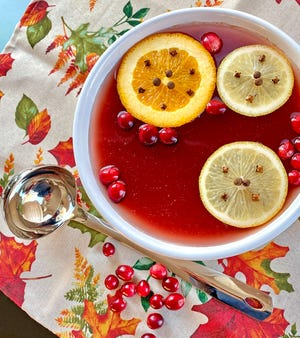 Wassail evokes an old tradition that has waxed and waned in popularity over the decades. Cranberries add a new twist.