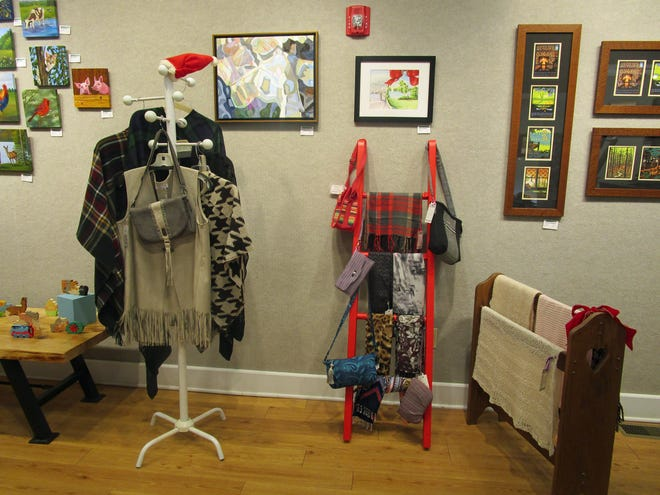 Celebration, the Arts Center's annual holiday show opened Tuesday, Nov. 10.