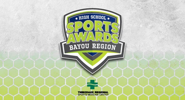 The awards show will be free to watch on any smartphone or computer thanks to the sponsor, Thibodaux Regional Sports Medicine Center. It is scheduled to premiere at 6 p.m. on June 17, 2021.