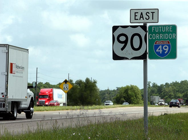 A Louisiana lawmaker is forwarding the latest in a long string of proposals that aim  to upgrade U.S. 90 to an interstate between Lafayette and New Orleans and complete numerous other neglected state highway projects.