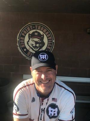 Scott Davis is the new head coach of the High Point-Thomasville HiToms baseball team.
