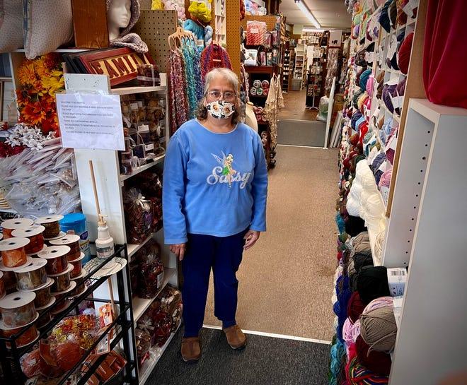 Karen Galib is seen here inside her KB Krafts store on New Boston Road in Fall River.