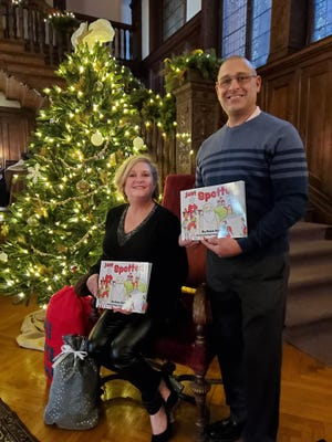"Rosie Bottari of Middletown wrote the Christmas-themed book ""Just Spotted"" that came out last year, while longtime friend Frank Lema Jr. handled the illustrations."
