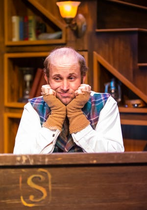 """Alex Dagg plays Bob Cratchit in the Ocala Civic Theatre production of  """"A Christmas Carol,"""" onstage through Dec. 20."""