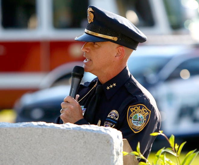 The Ocala City Council voted unanimously to appoint Mike Balken – shown in this 2019 file photo – as the new chief of the Ocala Police Department. He takes over for Chief Greg Graham, who died in a plane crash on Oct. 25.