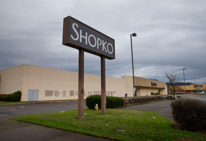 The old Shopko building at Coburg Road and Chad Drive is being considered for the location of a WinCo.