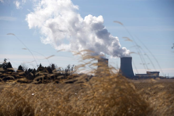 Residents in Byron are making a last-ditch effort to push legislators to act on energy policy that would save the Byron Generating Station, shown on Tuesday, Nov. 17, 2020, from closing in September.