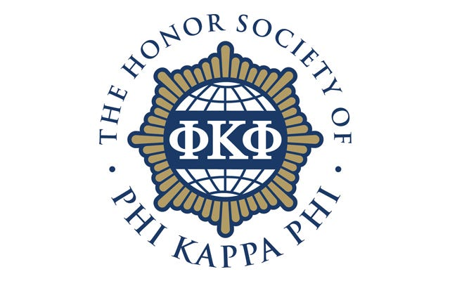 McKenzie Ankrom, of Georgetown, was recently initiated into The Honor Society of Phi Kappa Phi all-discipline collegiate honor society.