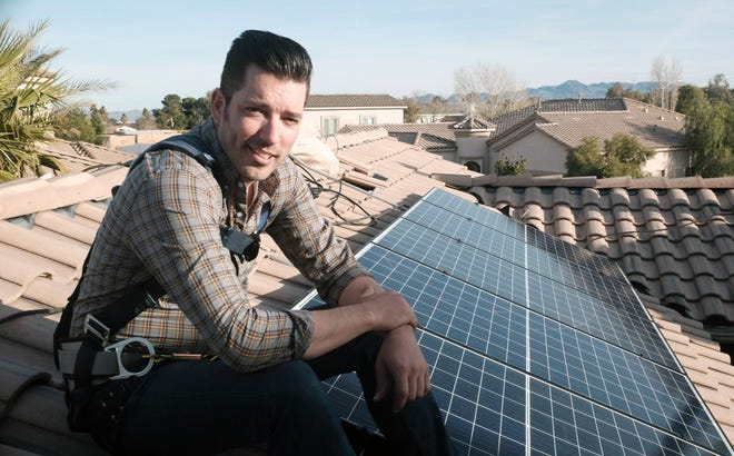 "Jonathan Scott from ""Property Brothers"" appears in the new documentary, ""Jonathan Scott's Power Trip."" T"