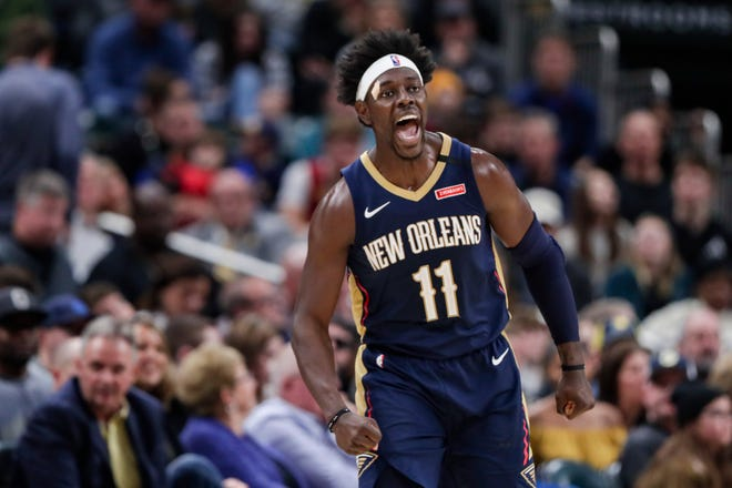 Jrue Holiday is being traded from New Orleans to Milwaukee, which is aiming to give two-time reigning NBA MVP Giannis Antetokounmpo the improved roster that he seeks with the decision on his supermax contract extension looming.