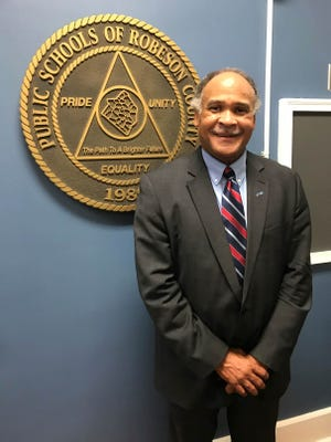 Freddie Williamson has been hired as superintendent of the Public Schools of Robeson County