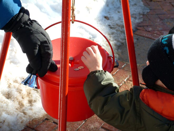 Salvation Army bell ringers will be giving donors a wide berth during this year's Red Kettle Campaign, practicing social distancing amid the COVID-19 pandemic.