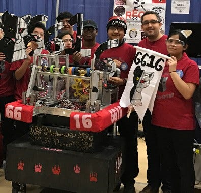 Scituate High School joins the ranks of the FIRST Robotics Competitive league.