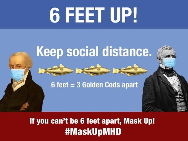 #MaskupMHD is an ongoing campaign aimed at getting residents to wear masks and social distance.