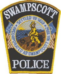 Swampscott police patch